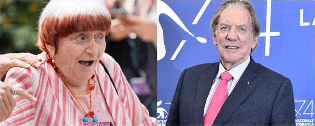 Oscar: Agnès Varda e Donald Sutherland receberão estatuetas honorárias