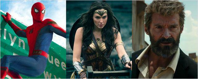 As maiores bilheterias de filmes de super-heróis de 2017 (até agora)