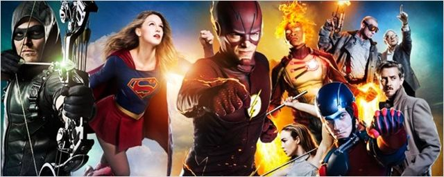 Fotos das filmagens do crossover de The Flash, Arrow, Supergirl e Legends of Tomorrow apontam outro casamento