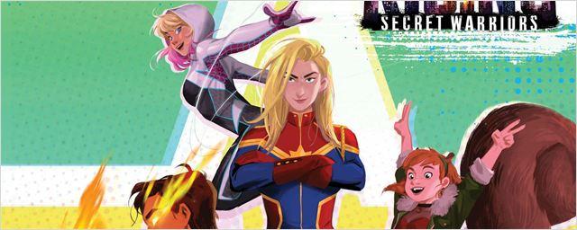 Marvel anuncia filme animado sobre Guerreiros Secretos com atrizes de Agents of S.H.I.E.L.D. no elenco