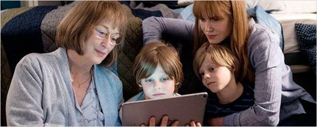 Big Little Lies: Meryl Streep surge ao lado de Reese Witherspoon e Nicole Kidman nas filmagens da nova temporada