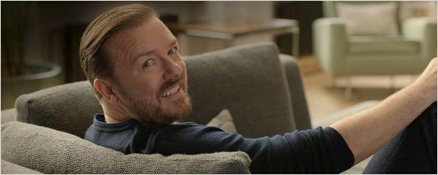 Ricky Gervais vai criar e estrelar nova comédia da Netflix