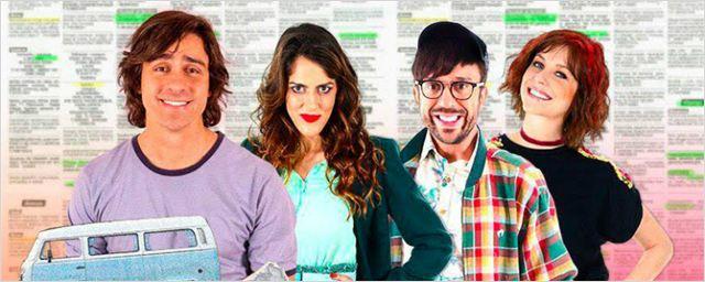 Amigo de Aluguel: Felipe Abib e Luciana Paes comentam a vida insana do ator que interpreta 13 personagens diferentes (Exclusivo)
