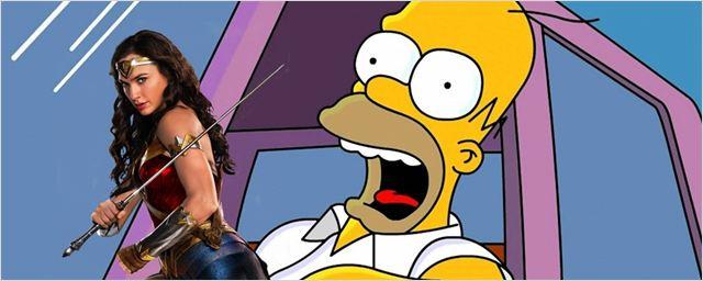 Os Simpsons: Homer zoa DC em prévia de episódio com Gal Gadot