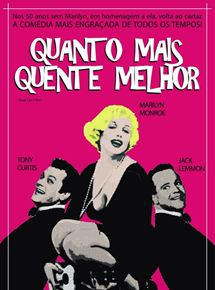 Quanto Mais Quente Melhor (1959) | Imagem: AdoroCinema