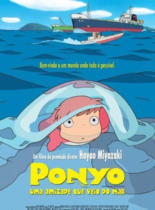 Ponyo - Uma Amizade que Veio do Mar