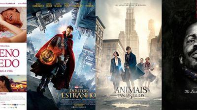 Estreias de novembro nos cinemas Nova aventura da Marvel, prelúdio da série Harry Potter e muito mais!
