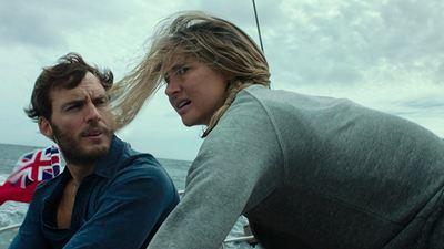 Vidas à Deriva: Shailene Woodley e Sam Claflin enfrentam tempestade em cena inédita (Exclusivo)