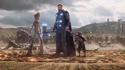 Vingadores - Guerra Infinita: Saiba como Groot levantou o machado de Thor