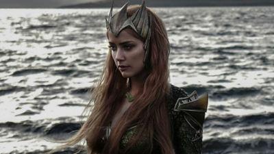 Amber Heard aparece completamente desconfortável em teste de figurino para Liga da Justiça