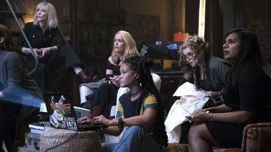 Sandra Bullock e Cate Blanchett reúnem um grupo poderoso em nova imagem de Oito Mulheres e um Segredo