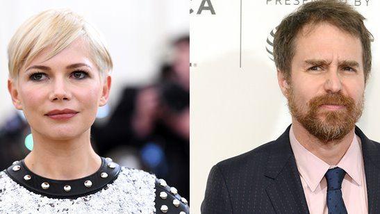 Michelle Williams e Sam Rockwell vão estrelar série limitada sobre o relacionamento de Bob Fosse e Gwen Verdon