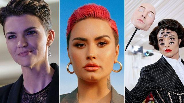 Demi Lovato revela ser pessoa não binária; conheça mais personalidades que também são