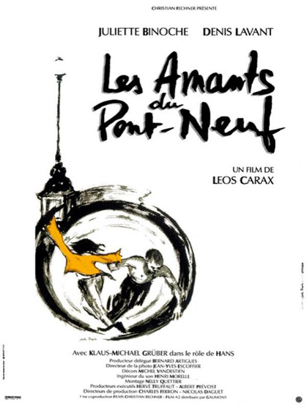 Os Amantes de Pont-Neuf poster - Poster 1 - AdoroCinema