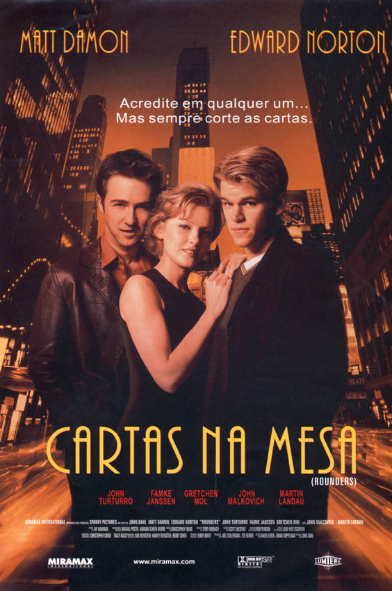 Cartas na Mesa - Filme 1998 - AdoroCinema