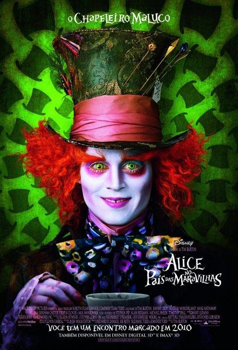 Alice no País das Maravilhas : Elenco, atores, equipe técnica, produção - AdoroCinema