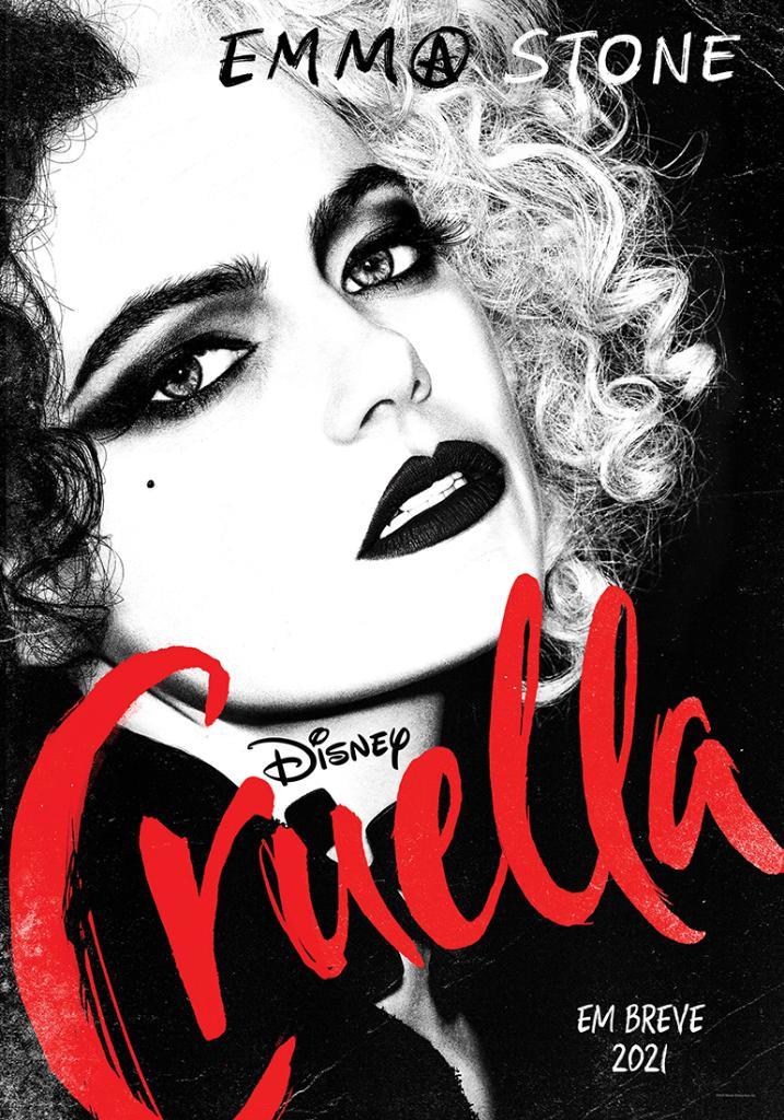 Cruella: Emma Stone se transforma na vilã de Os 101 ...