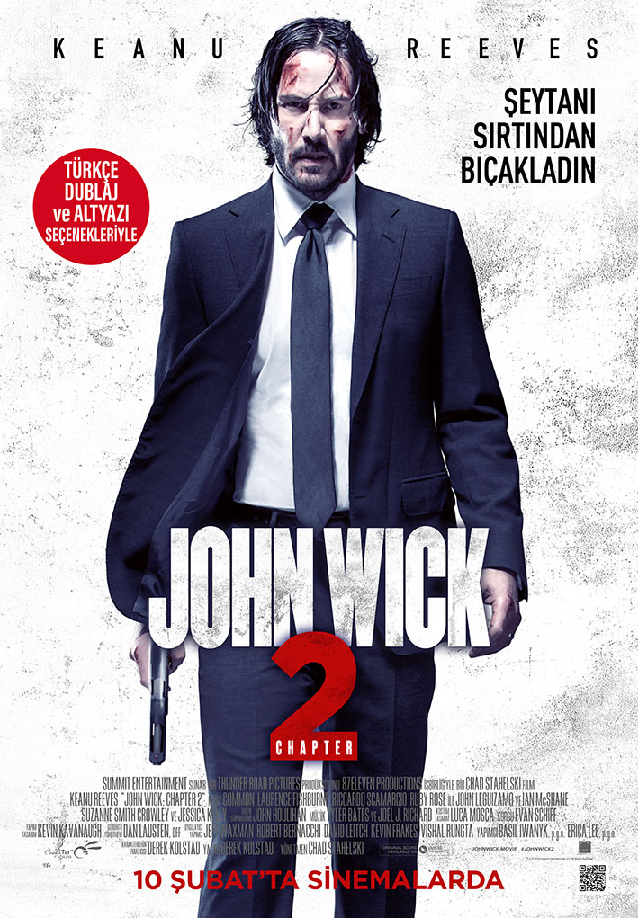 Baixar Filme John Wick – Um Novo Dia para Matar (2017) Legendado WEB-DL 720p | 1080p – Torrent Download