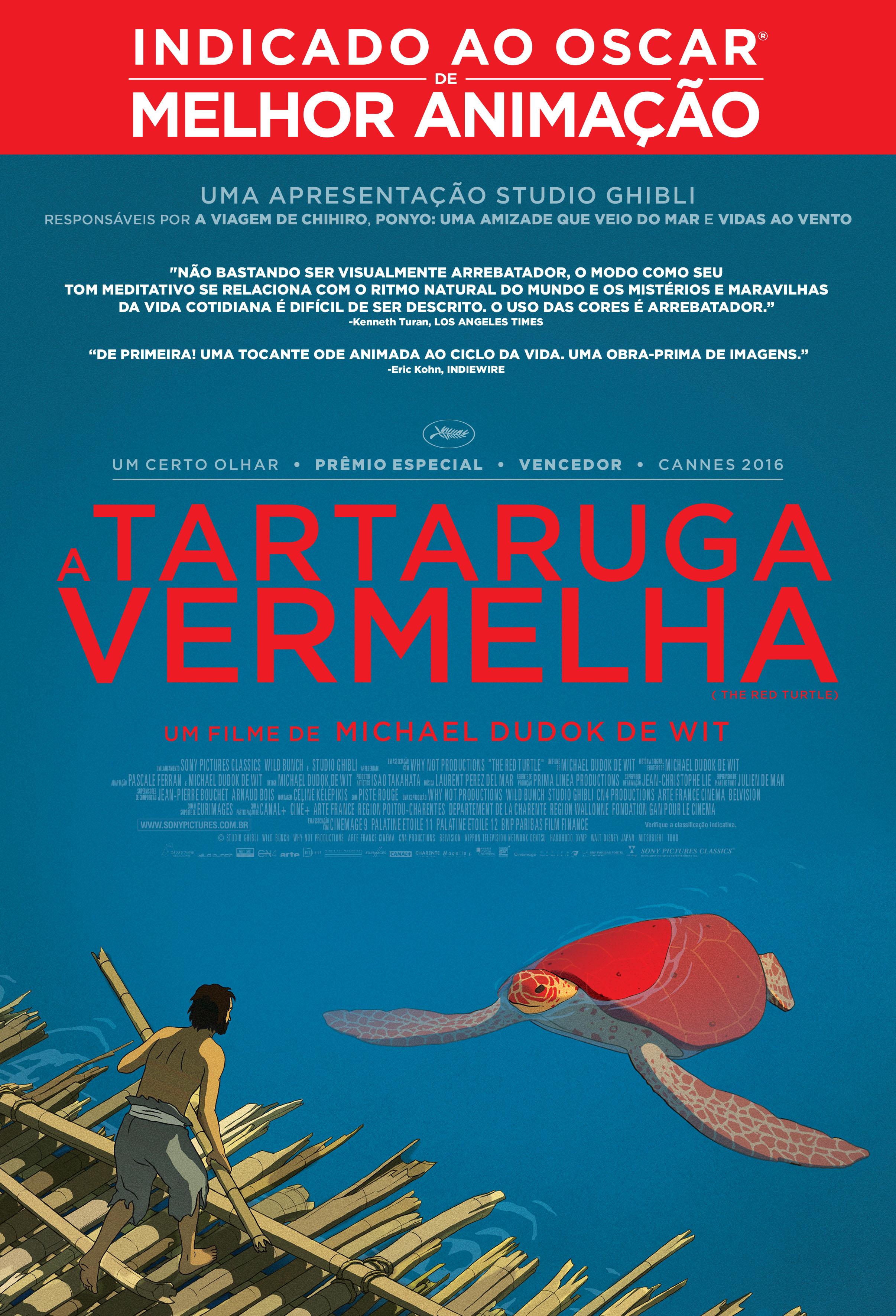 Resultado de imagem para A Tartaruga Vermelha (2016)