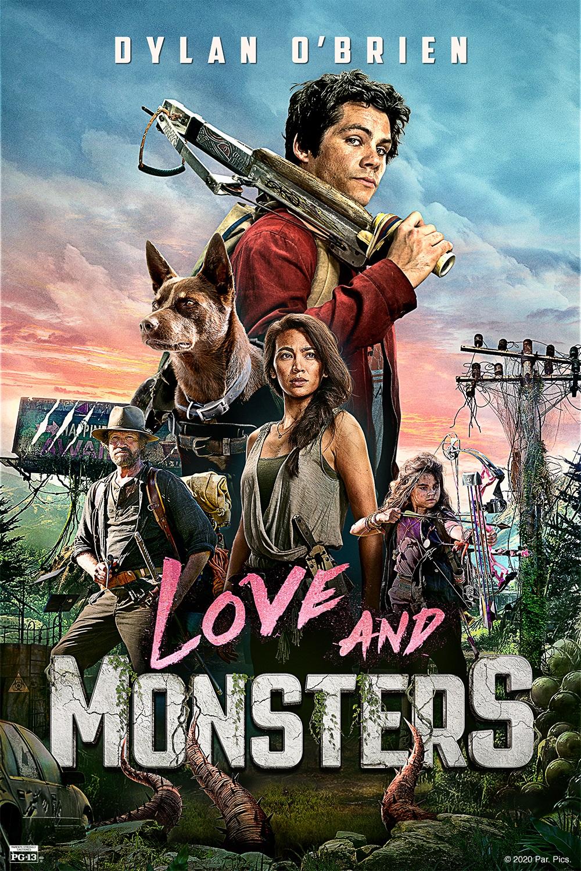 poster amor e monstros