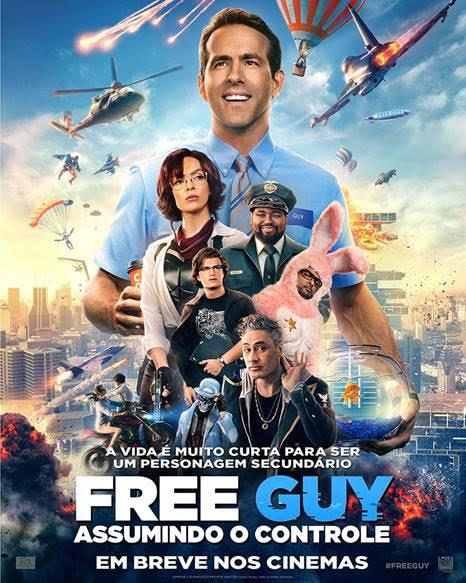 Free Guy - Assumindo o Controle - Filme 2021 - AdoroCinema