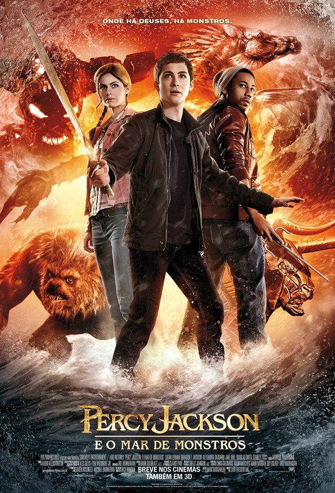 Resultado de imagem para Percy Jackson e o Mar de Monstros adorocinema
