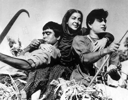Mãe Índia : Foto Mehboob Khan, Nargis, Rajendra Kumar, Sunil Dutt