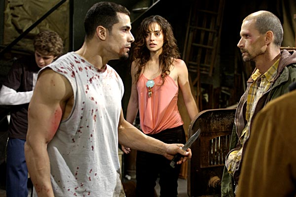 Jogos Mortais 2: Darren Lynn Bousman, Emmanuelle Vaugier, Franky G.