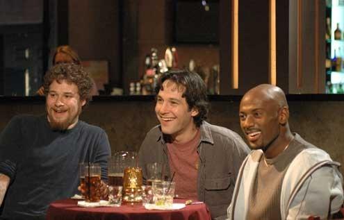 O Virgem de 40 Anos: Romany Malco, Seth Rogen, Paul Rudd