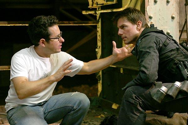Missão Impossível 3 : Foto J.J. Abrams, Tom Cruise