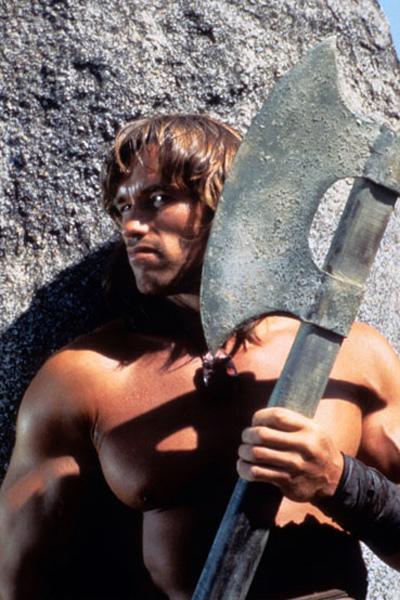 Conan, o Bárbaro : Foto Arnold Schwarzenegger, John Milius