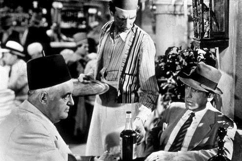 Casablanca: Sydney Greenstreet, Michael Curtiz, Humphrey Bogart