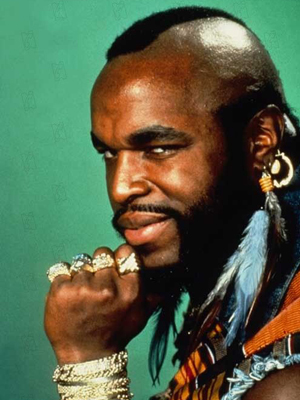 Poster Mr. T