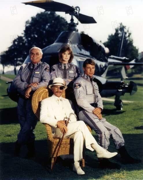Airwolf : Foto Alex Cord, Ernest Borgnine, Jan-Michael Vincent