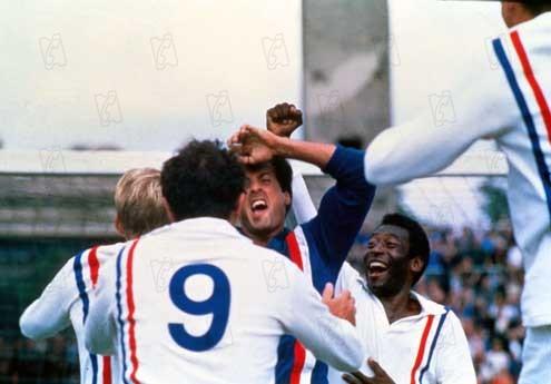 Fuga para a Vitória : Foto John Huston, Pelé, Sylvester Stallone