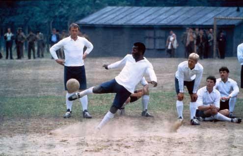 Fuga para a Vitória : Foto John Huston, Pelé
