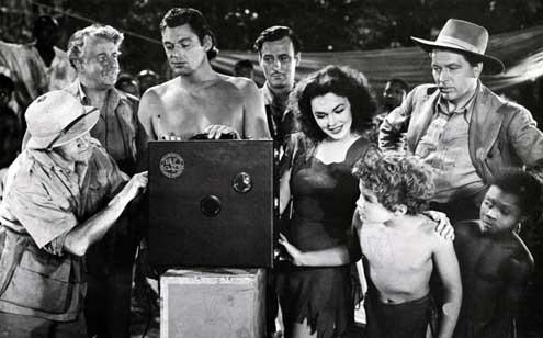 Tarzan's secret treasure : Photo Barry Fitzgerald, Johnny Sheffield, Johnny Weissmuller, Maureen O'Sullivan, Philip Dorn
