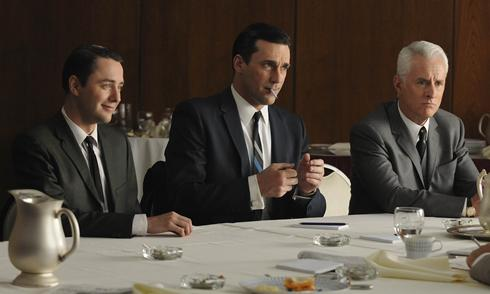 Mad Men : Foto John Slattery, Jon Hamm, Vincent Kartheiser