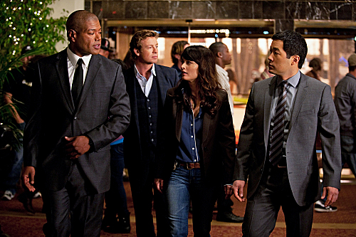 Foto Christopher Judge, Robin Tunney, Simon Baker, Tim Kang