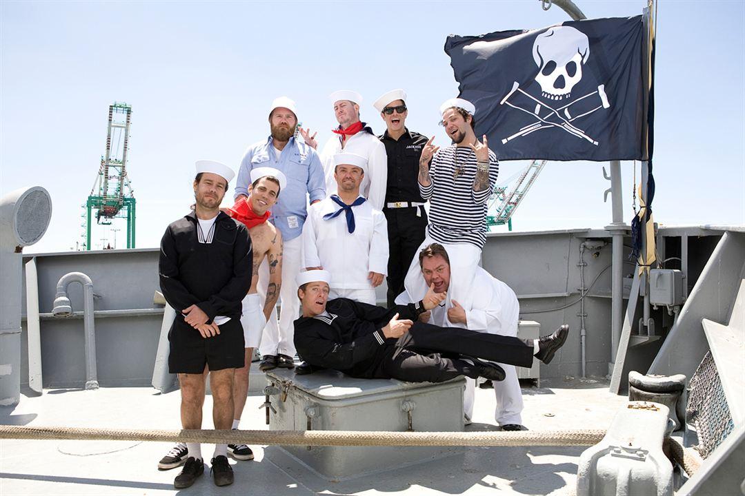 Jackass 3D : Foto Bam Margera, Chris Pontius, Ehren McGhehey, Jason Acuña, Jeff Tremaine