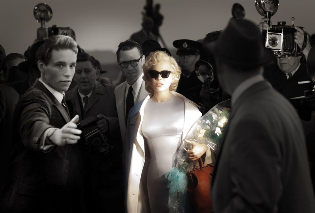 Sete Dias com Marilyn : Foto Dougray Scott, Eddie Redmayne, Michelle Williams, Simon Curtis