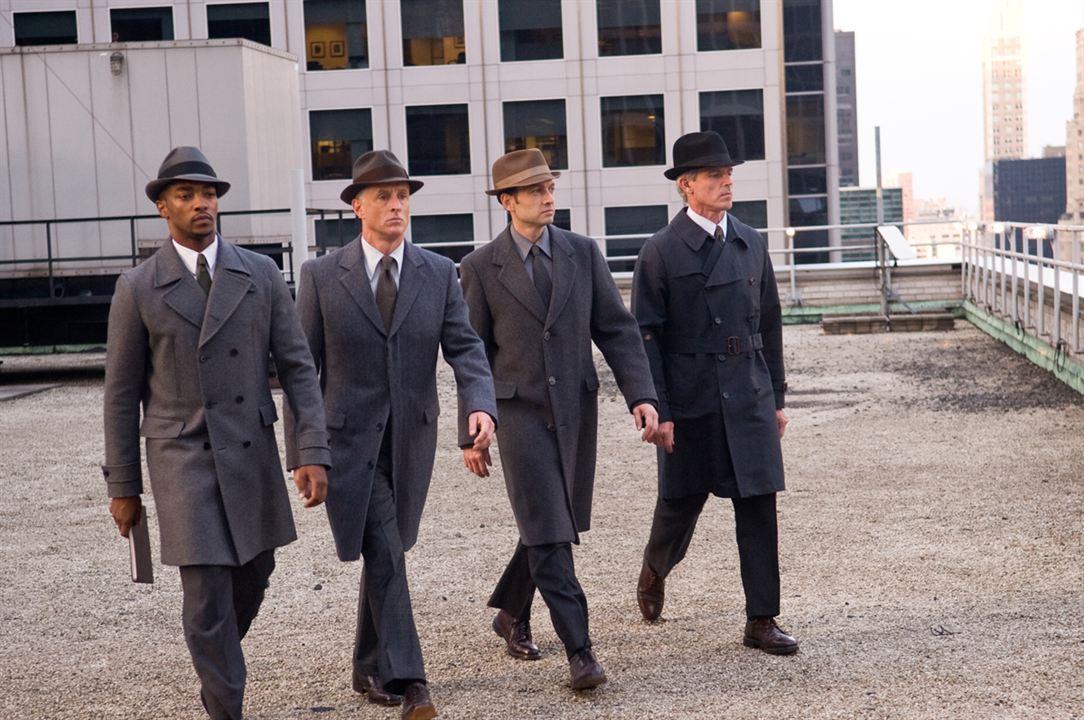 Os Agentes do Destino : Foto Anthony Mackie, David Alan Basche, George Nolfi, John Slattery