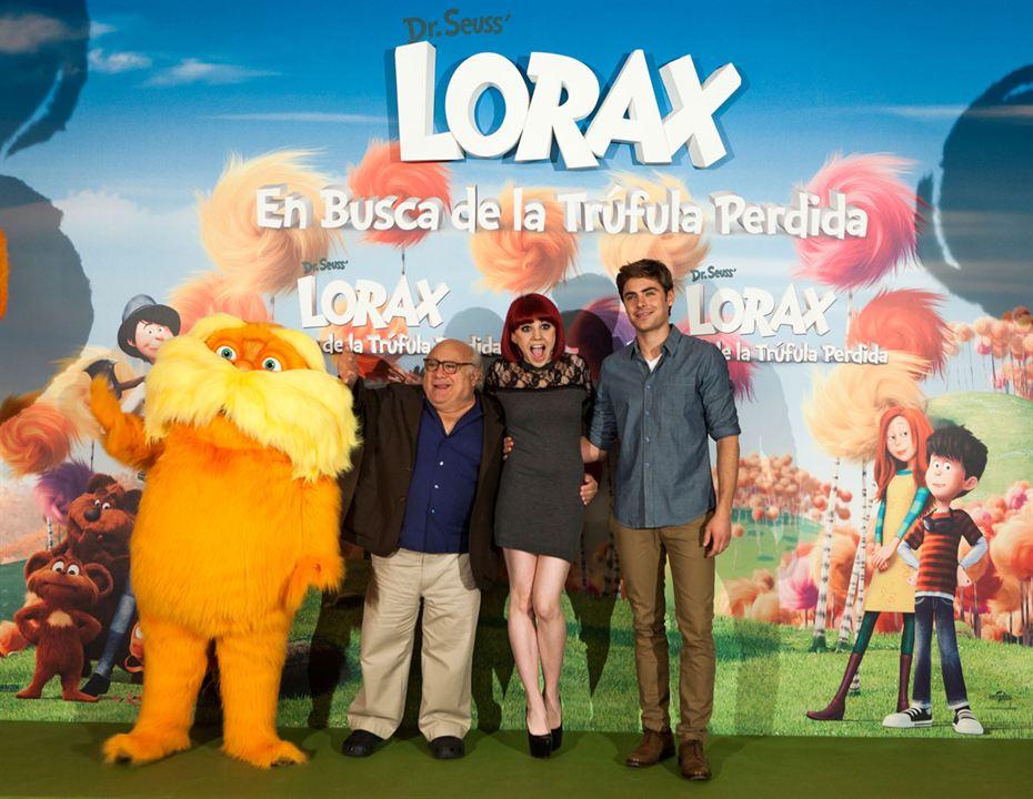 O Lorax: Em Busca da Trúfula Perdida : Foto Danny DeVito, Taylor Swift, Zac Efron