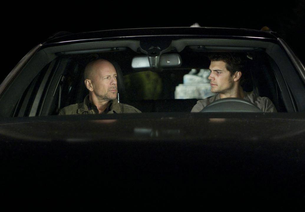 Fuga Implacável : Foto Bruce Willis, Henry Cavill, Mabrouk el Mechri