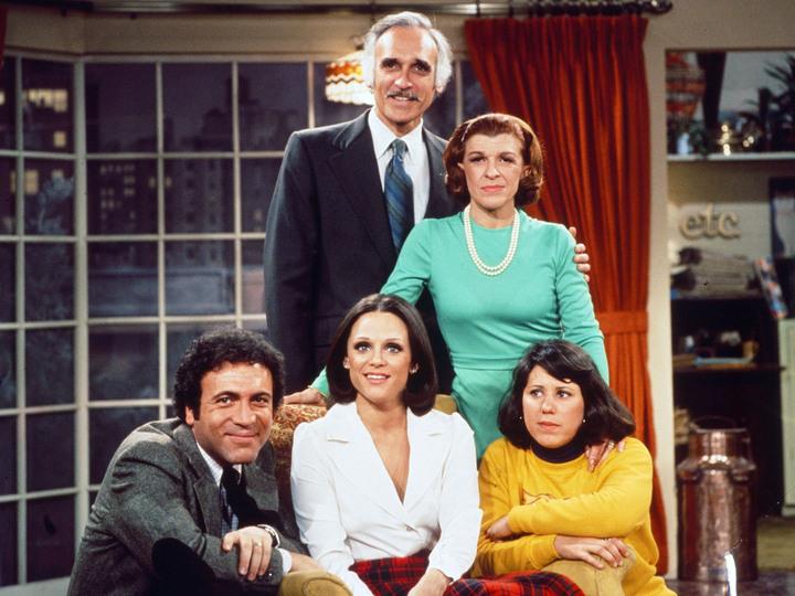 Rhoda : Foto David Groh, Harold Gould, Julie Kavner, Nancy Walker, Valerie Harper