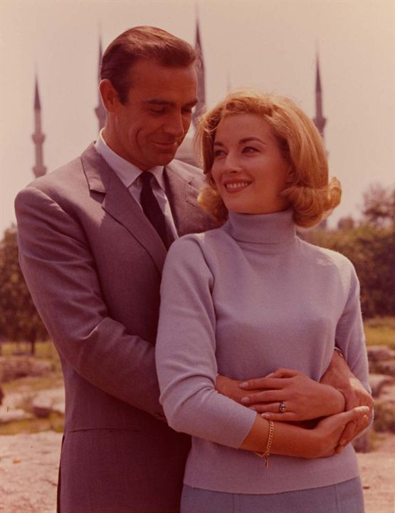 Moscou Contra 007: Sean Connery, Daniela Bianchi