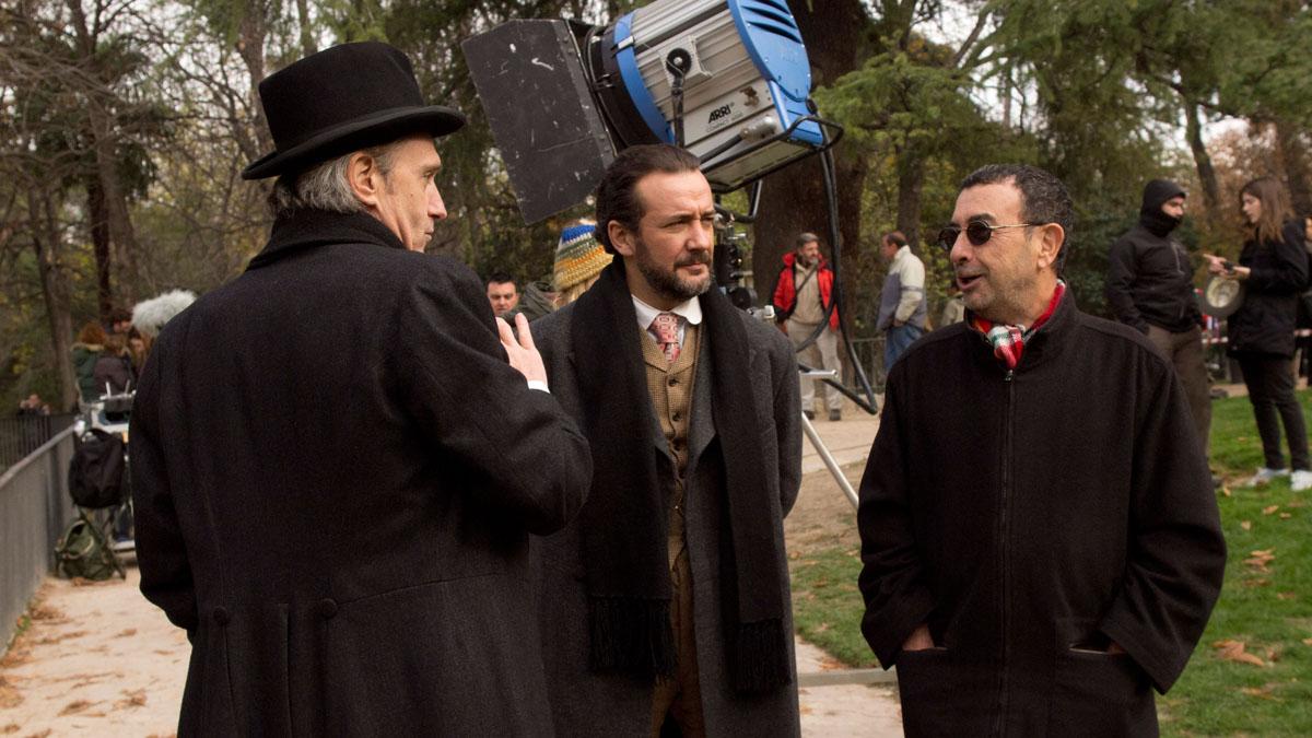 Foto Gary Piquer, José Luis Garci, José Luis García Pérez