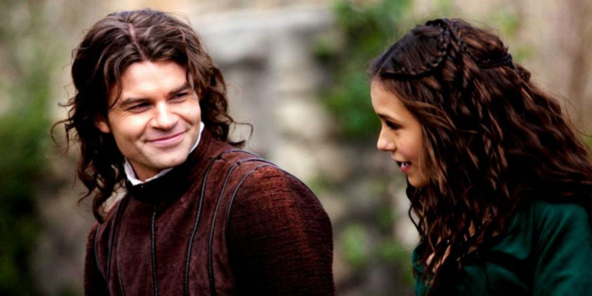 10º Katherine (Nina Dobrev) e Elijah (Daniel Gillies) - Kalijah