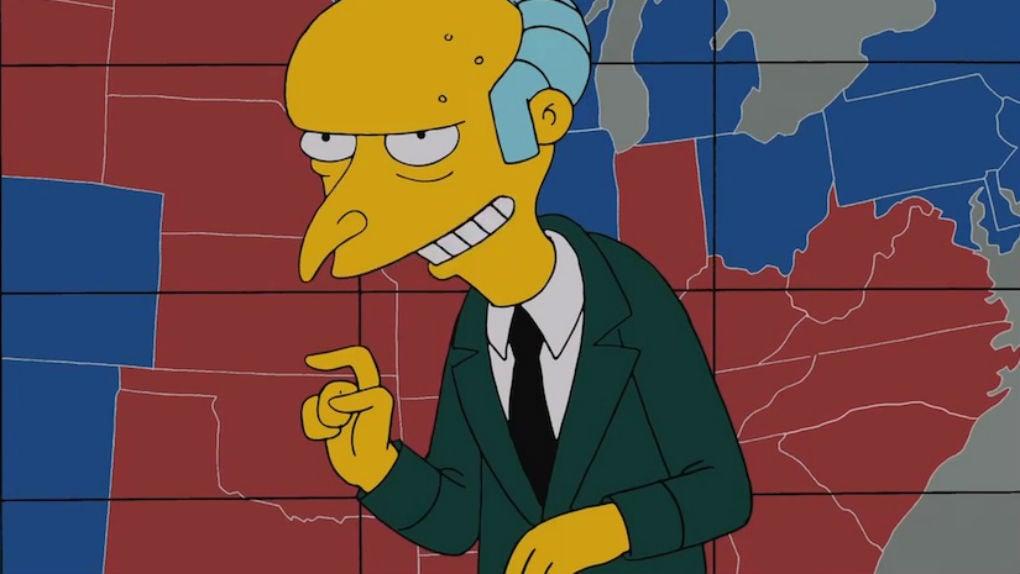 Qual é a idade do Sr. Burns?