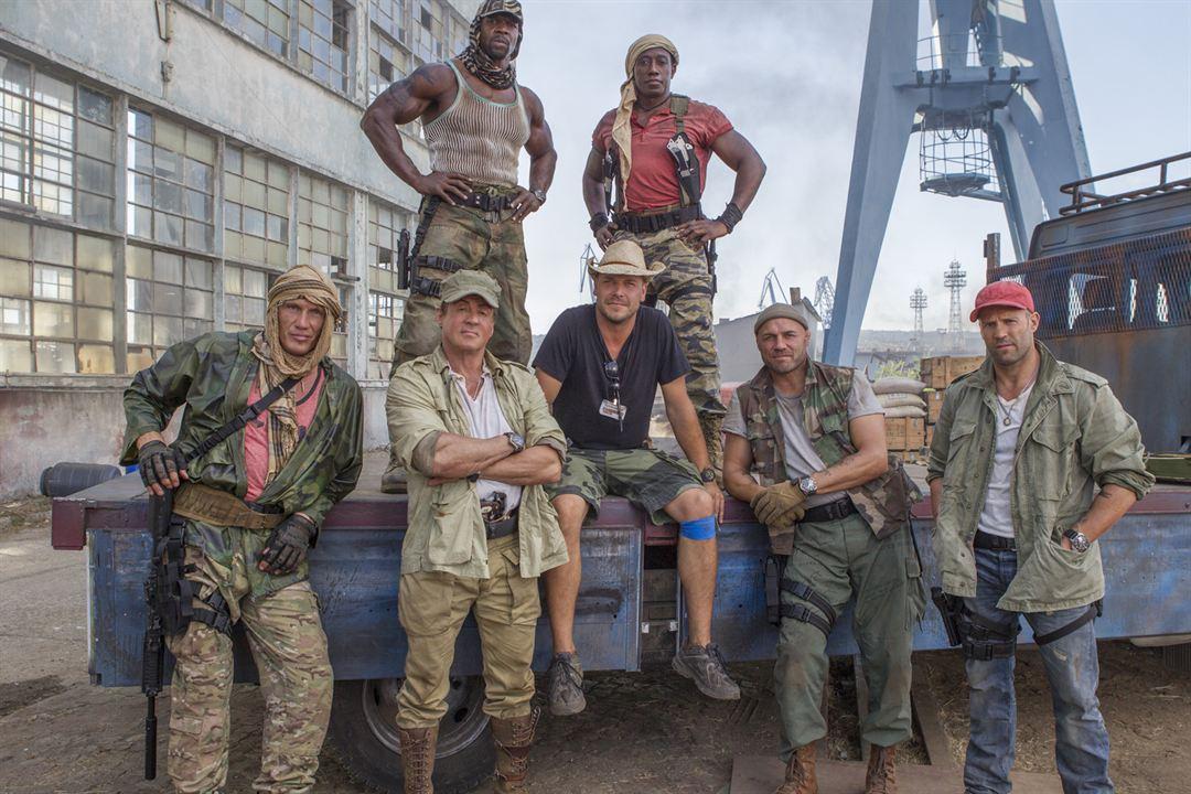 Os Mercenários 3 : Foto Dolph Lundgren, Jason Statham, Patrick Hughes (II), Randy Couture, Sylvester Stallone